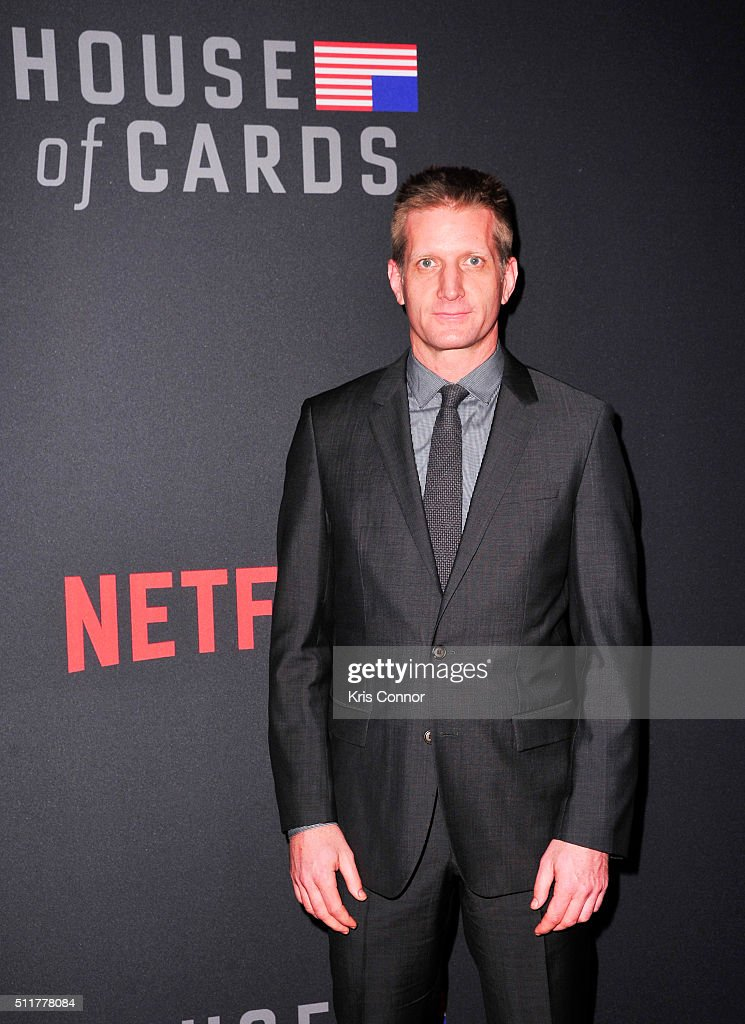 Actor Paul Sparks attends the 'House Of Cards' Season 4 Premiere at the National Portrait Gallery on February 22, 2016 in Washington, DC.