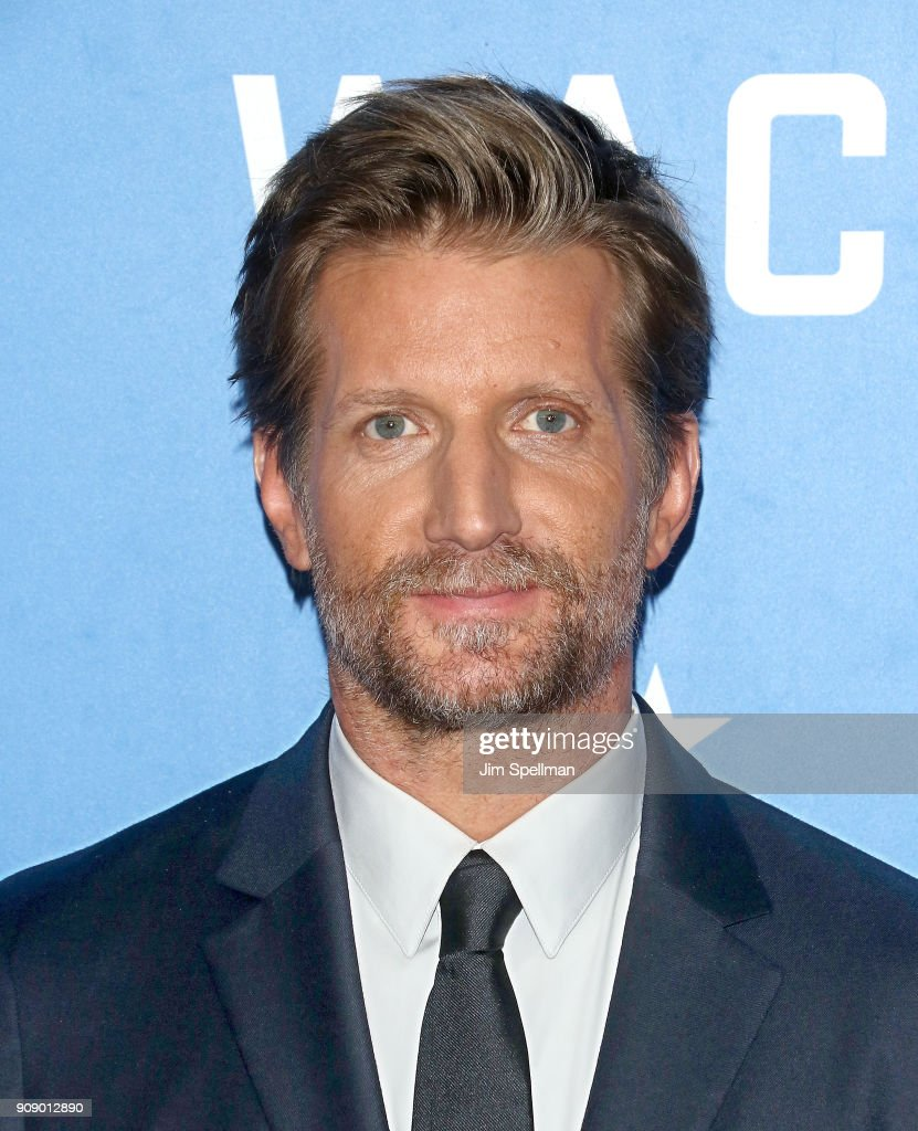 Actor Paul Sparks attends the 'Waco' world premiere at Jazz at Lincoln Center on January 22, 2018 in New York City.