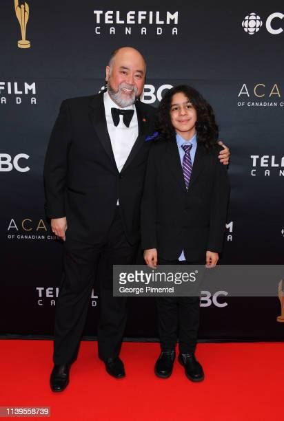 Actor Paul SunHyung Lee and Mateus Soto attend the 2019 Canadian Screen Awards Broadcast Gala at Sony Centre for the Performing Arts on March 31 2019...