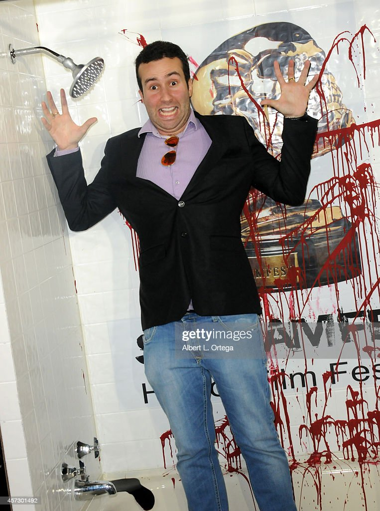 Actor Paul Tirado arrives for ScreamFest 2014 'See No Evil 2' Screening held at TCL Chinese 6 Theatres on October 15, 2014 in Hollywood, California.