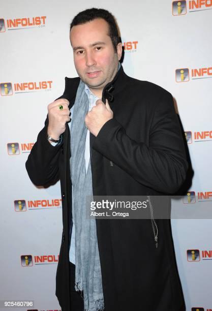 Actor Paul Tirado attends the INFOListcom's PreOscar Soiree and Jeff Gund Birthday Party held at Mondrian Sky Bar on February 27 2018 in West...