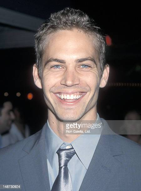 """Actor Paul Walker attends """"The Skulls"""" Westwood Premiere on March 27, 2000 at the Mann Village Theatre in Westwood, California."""