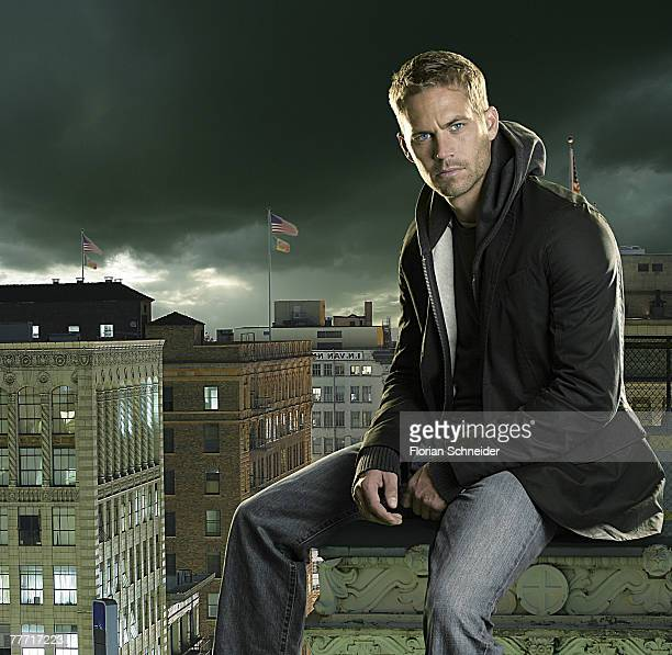 Actor Paul Walker is photographed Alternative Press Magazine in 2006 PUBLISHED IMAGE