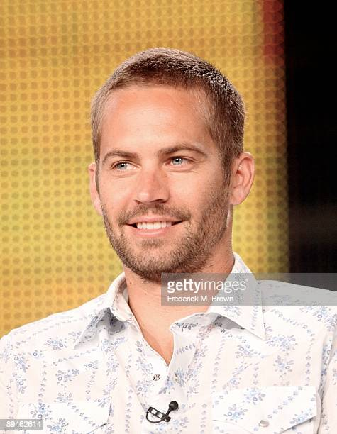 Actor Paul Walker of the National Geographic Channel's the television show Expedition Week speaks during the Cable portion of the 2009 Summer...
