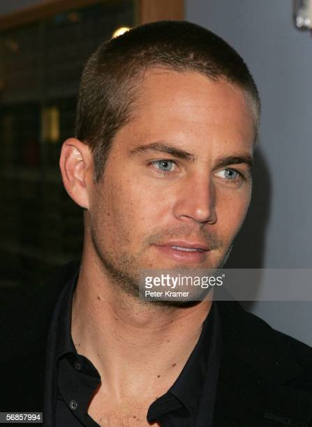 Actor Paul Walker stops by MTV Studios for a taping of MTV2 presents 'Rock Countdown' February 15 2006 in New York City