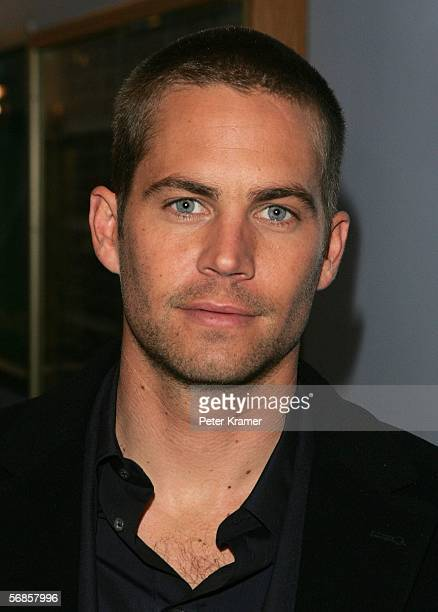 Actor Paul Walker stops by MTV Studios for a taping of MTV2 presents Rock Countdown February 15 2006 in New York City