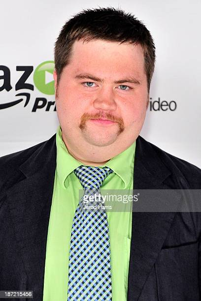 Actor Paul Walter Hauser arrives at Amazoncom red carpet launch party for Alpha House and Betas Los Angeles Premieres at Boulevard3 on November 6...