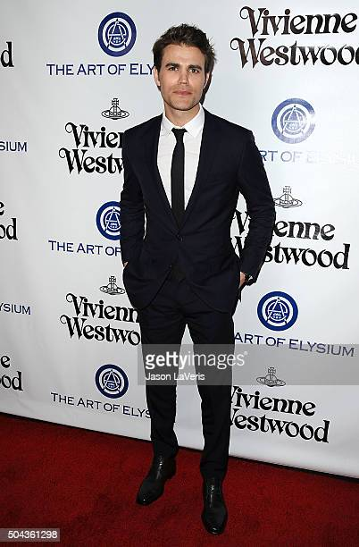 Actor Paul Wesley attends Art of Elysium's 9th annual Heaven Gala at 3LABS on January 9 2016 in Culver City California