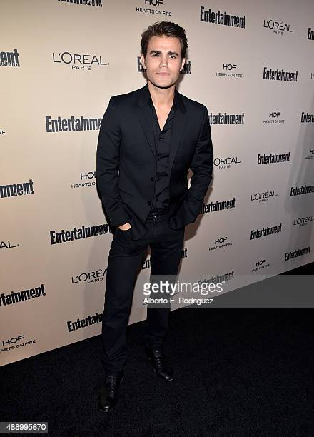 Actor Paul Wesley attends the 2015 Entertainment Weekly PreEmmy Party at Fig Olive Melrose Place on September 18 2015 in West Hollywood California