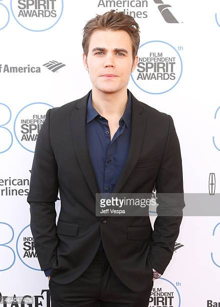 Actor Paul Wesley attends the 2015 Film Independent Spirit Awards at Santa Monica Beach on February 21 2015 in Santa Monica California