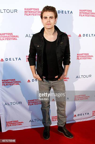 Actor Paul Wesley attends the Amira Sam premiere during the 2014 Hamptons International Film Festival on October 11 2014 in East Hampton New York