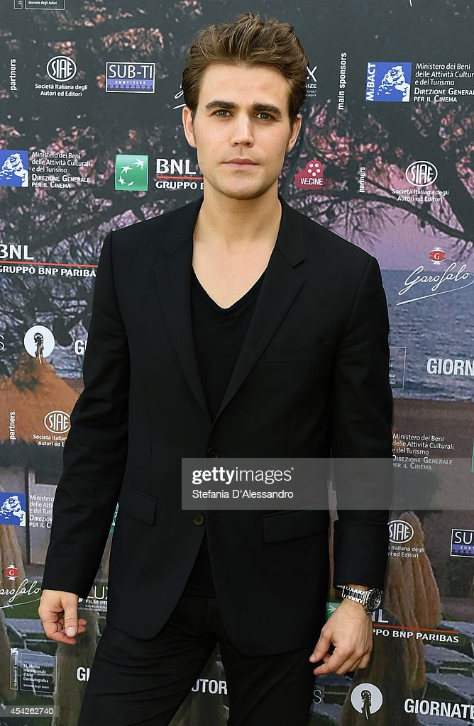 Actor Paul Wesley attends the 'Before I Disappear' photocall on August 27, 2014 in Venice, Italy.