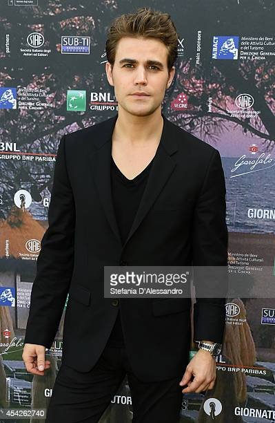 Actor Paul Wesley attends the 'Before I Disappear' photocall on August 27 2014 in Venice Italy