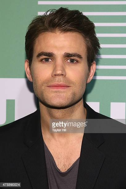 Actor Paul Wesley attends the CW Network's New York 2015 Upfront Presentation at The London Hotel on May 14 2015 in New York City