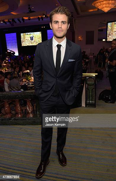 Actor Paul Wesley attends The Humane Society Of The United States' Los Angeles Benefit Gala at the Beverly Wilshire Hotel on May 16 2015 in Beverly...
