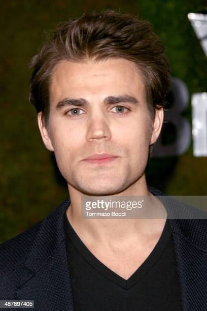 Actor Paul Wesley attends the Jaguar North America and BritWeek present a Villainous Affair held at The London on May 2 2014 in West Hollywood...