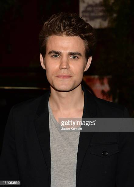 Actor Paul Wesley attends The Walking Dead 10th Anniversary Celebration Event during ComicCon 2013 on July 19 2013 in San Diego California