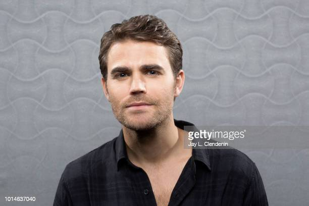 Actor Paul Wesley from 'Tell Me a Story' is photographed for Los Angeles Times on July 19 2018 in San Diego California PUBLISHED IMAGE CREDIT MUST...