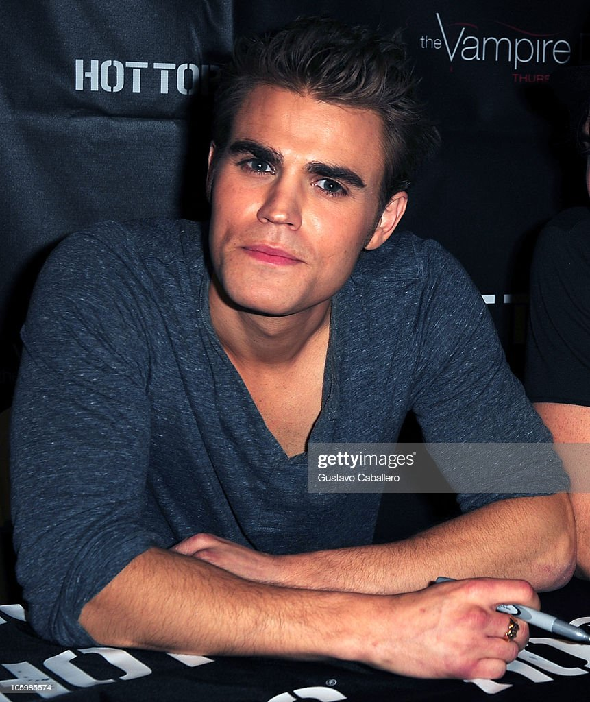 The vampire diaries meet and greet image collections greeting card vampire diaries season 2 cast tour photos and images getty images actor paul wesley meet and kristyandbryce Images
