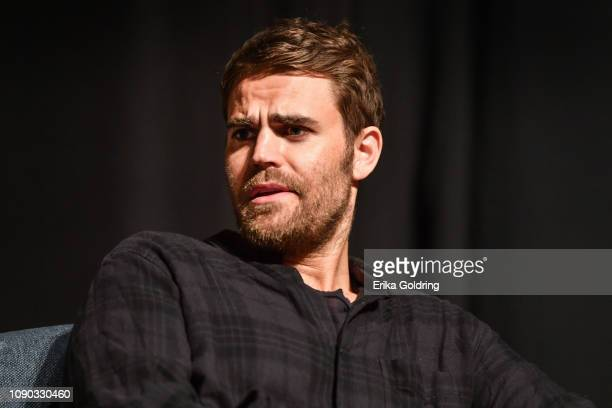 Actor Paul Wesley of 'The Vampire Diaries' attends Wizard World Comic Con at Ernest N Morial Convention Center on January 04 2019 in New Orleans...
