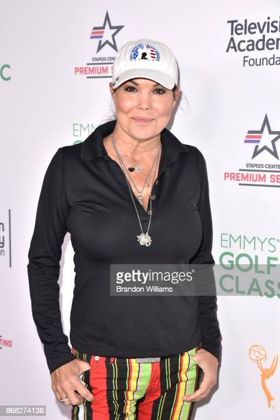Actor Paula Trickey attends the 18th Annual Emmys Golf Classic at Wilshire Country Club on October 30 2017 in Los Angeles California