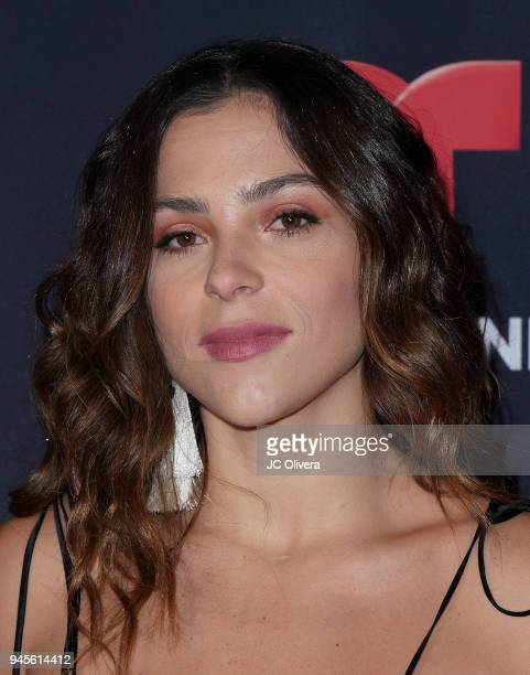 Actor Paulina Davila attends the screening of Telemundo's 'Luis Miguel La Serie' at a Private Residence on April 12 2018 in Beverly Hills California