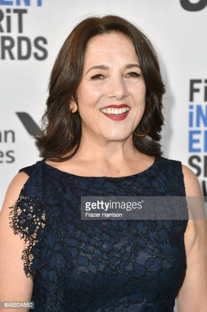 Actor Paulina Garcia attends the 2017 Film Independent Spirit Awards at the Santa Monica Pier on February 25 2017 in Santa Monica California