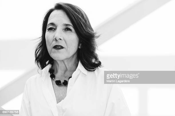 Actor Paulina Garcia is photographed on May 25 2017 in Cannes France