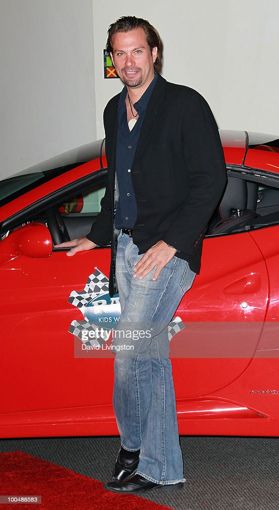 Actor Paulo Benedeti attends the Rally for Kids with Cancer Scavenger Cup press conference at Petersen Automotive Museum on May 24, 2010 in Los Angeles, California.