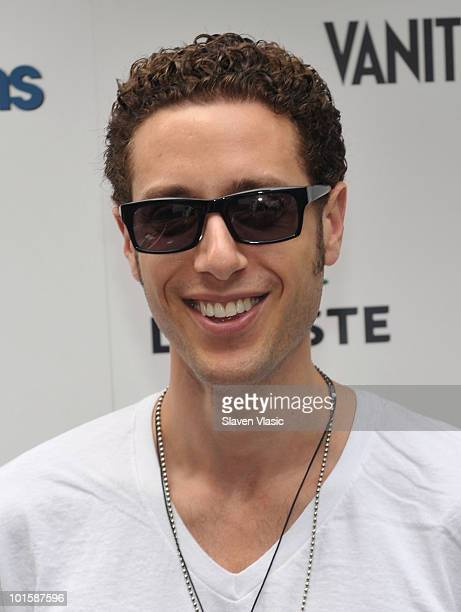Actor Paulo Costanzo of USA Network's Royal Pains attends the Royal Pains Summer Shirt Exchange benefitting Doctors Without Borders in Greeley Square...