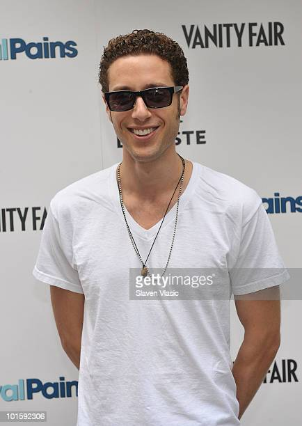 Actor Paulo Costanzo of USA Network's Royal Pains attends the Royal Pains Summer Shirt Exchange to benefit Doctors Without Borders in Greeley Square...