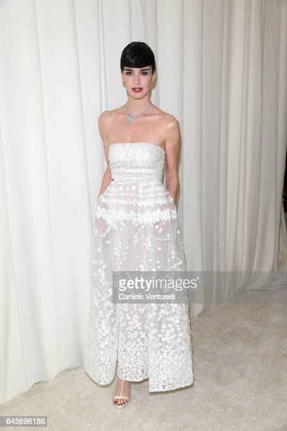 Actor Paz Vega attends Bulgari at the 25th Annual Elton John AIDS Foundation's Academy Awards Viewing Party at on February 26 2017 in Los Angeles...