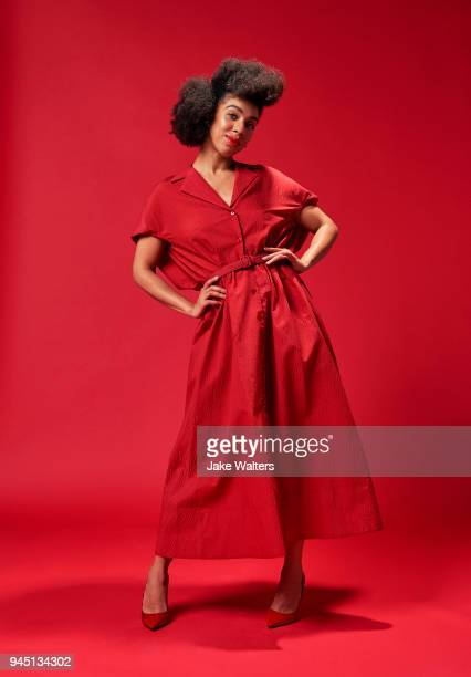 Actor Pearl Mackie is photographed for Fabric magazine on November 15 2017 in London England