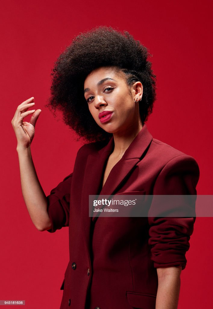 Actor Pearl Mackie is photographed for Fabric magazine on November 15, 2017 in London, England.