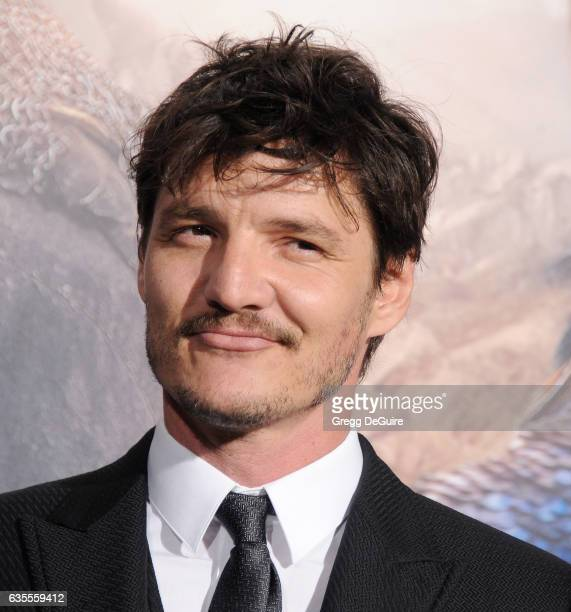 Actor Pedro Pascal arrives at the premiere of Universal Pictures' 'The Great Wall' at TCL Chinese Theatre IMAX on February 15 2017 in Hollywood...