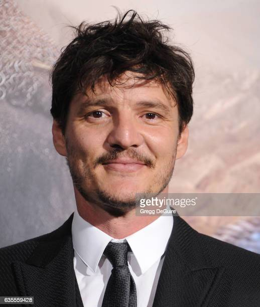 Actor Pedro Pascal arrives at the premiere of Universal Pictures' The Great Wall at TCL Chinese Theatre IMAX on February 15 2017 in Hollywood...