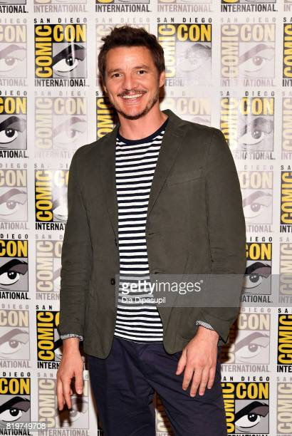 Actor Pedro Pascal at the 'Kingsman The Secret Service' press line at Hilton Bayfront during ComicCon International 2017 on July 20 2017 in San Diego...