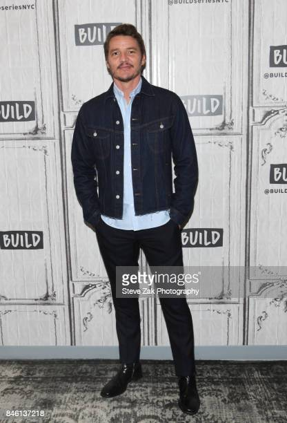 Actor Pedro Pascal attends Build Series to discuss his new film Kingsman The Golden Circle at Build Studio on September 12 2017 in New York City
