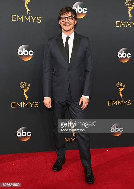 Actor Pedro Pascal attends the 68th Annual Primetime Emmy Awards at Microsoft Theater on September 18 2016 in Los Angeles California
