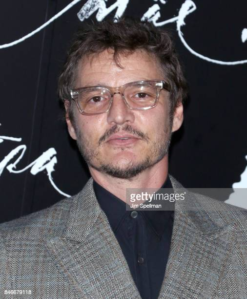 Actor Pedro Pascal attends the 'mother' New York premiere at Radio City Music Hall on September 13 2017 in New York City