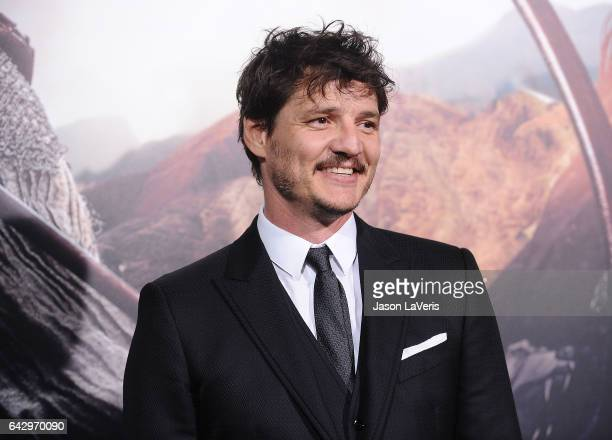 """Actor Pedro Pascal attends the premiere of """"The Great Wall"""" at TCL Chinese Theatre IMAX on February 15, 2017 in Hollywood, California."""
