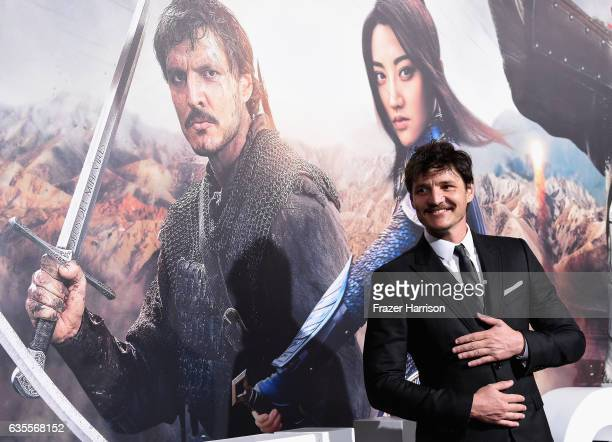 Actor Pedro Pascal attends the premiere of Universal Pictures' 'The Great Wall' at TCL Chinese Theatre IMAX on February 15 2017 in Hollywood...