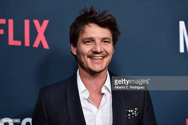 Actor Pedro Pascal attends the Season 2 premiere of Netflix's 'Narcos' at ArcLight Cinemas on August 24 2016 in Hollywood California