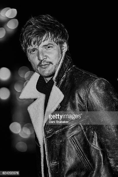 Actor Pedro Pascal is photographed for Flaunt Magazine on August 23 2016 in Los Angeles California