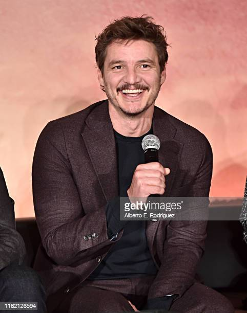 Actor Pedro Pascal of Lucasfilm's The Mandalorian at the Disney Global Press Day on October 19 2019 in Los Angeles California The Mandalorian series...