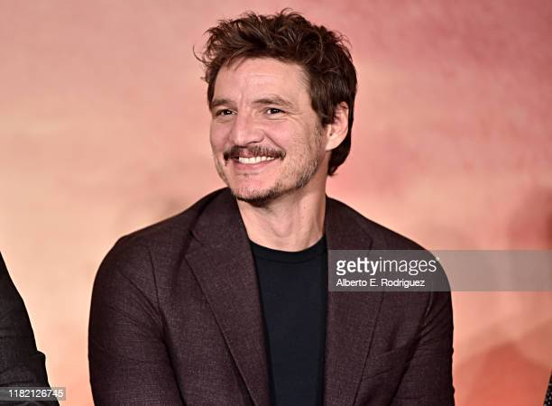 """Actor Pedro Pascal of Lucasfilm's """"The Mandalorian"""" at the Disney+ Global Press Day on October 19, 2019 in Los Angeles, California. """"The Mandalorian""""..."""