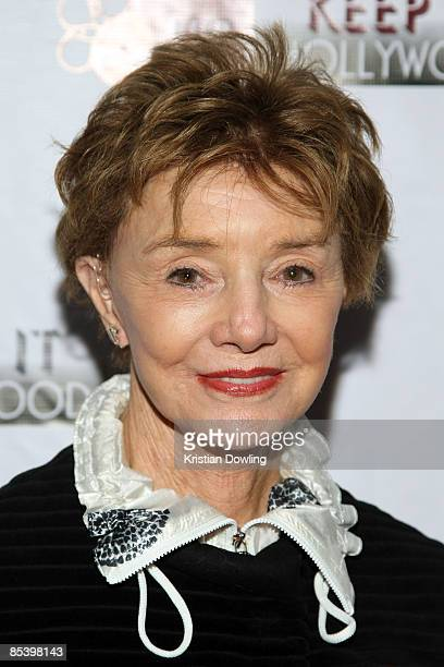 Actor Peggy McCay arrives for The National Kidney Foundation's 'Keep It Hollywood' on World Kidney Day at Guy's North on March 12 2009 in Studio City...