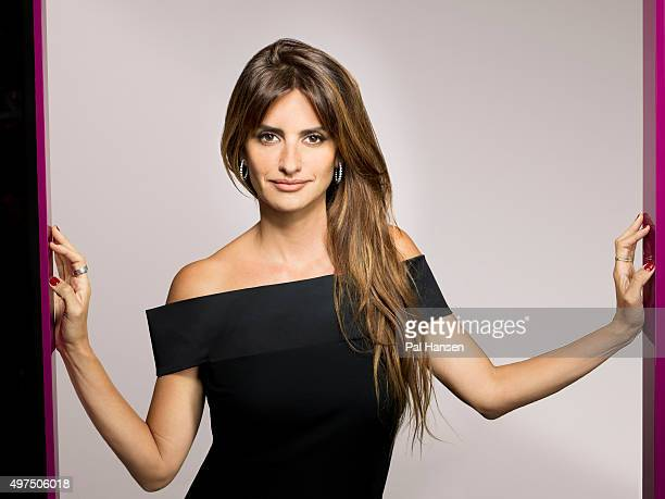 Actor Penelope Cruz is photographed for the Observer on September 4 2015 in London England