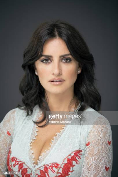 Actor Penelope Cruz is photographed on September 6 2017 in Venice Italy