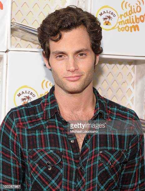 Actor Penn Badgley attends Malibu Rum's First Day Of Summer Kick Off at Tribeca Rooftop on June 21 2010 in New York City